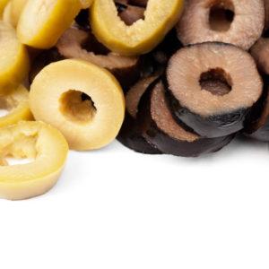 Olives rondelles